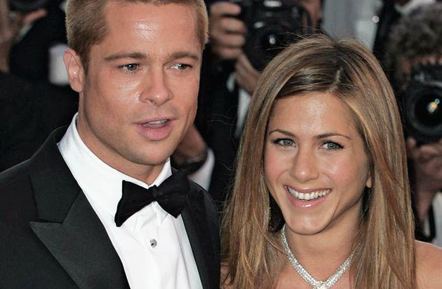 Aniston zaprosiła Pitta na imprezę. Znów mają się ku sobie