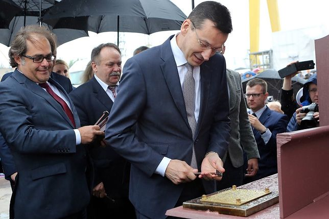 """PiS odpowiada: """"Politycy PO mówią bzdury. Budowa trwa, a stępka oczywiście będzie wykorzystana"""""""