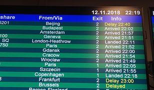 Rejs z Pekinu do Warszawy miał 10-godzinne opóźnienie