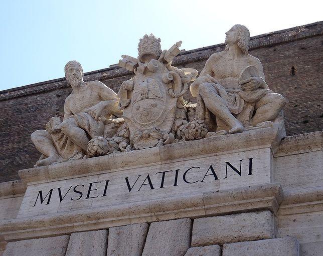 Muzea Watykańskie to jedno z najchętniej odwiedzanych muzeów świata