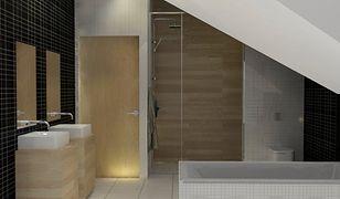 Jak urządzić nowoczesną łazienkę na poddaszu - aranżacje
