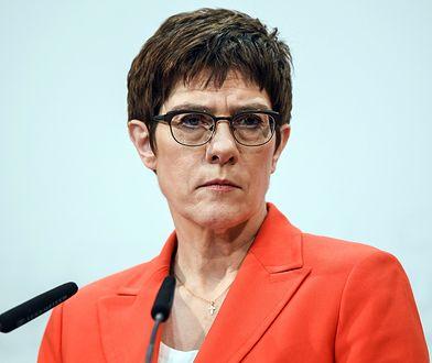 Kramp-Karrenbauer nie zamierza walczyć o fotel kanclerz Niemiec
