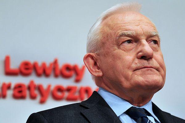 Leszek Miller do Grzegorza Napieralskiego: przestań się mazać, chłopaki nie płaczą