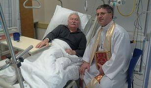 Lech Wałęsa jest w szpitalu. Złamał nogę