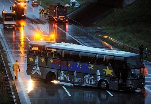 Tragiczny wypadek polskiego autokaru - zdjęcia