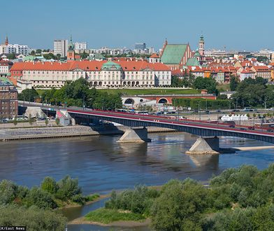 Wypadek na moście Śląsko-Dąbrowskim - 17-latka wpadła do Wisły