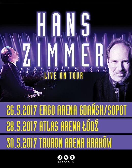 Hans Zimmer wraca w maju do Polski. Bilety na niezwykłe koncerty już w sprzedaży