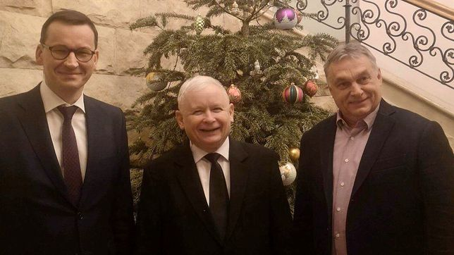 Jarosław Kaczyński spotkał się z Wiktorem Orbanem. PiS opublikowało zdjęcia