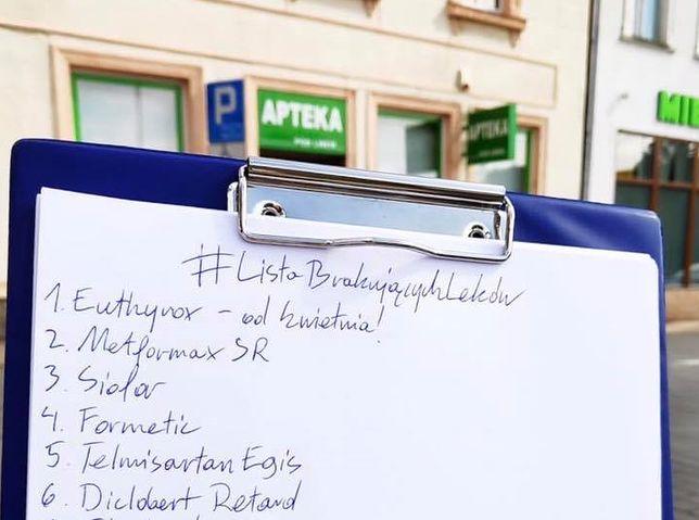 Kryzys lekowy. Listy brakujących lekarstw w ponad 1000 aptekach w Polsce. Brejza: Wściekłość i rozpacz