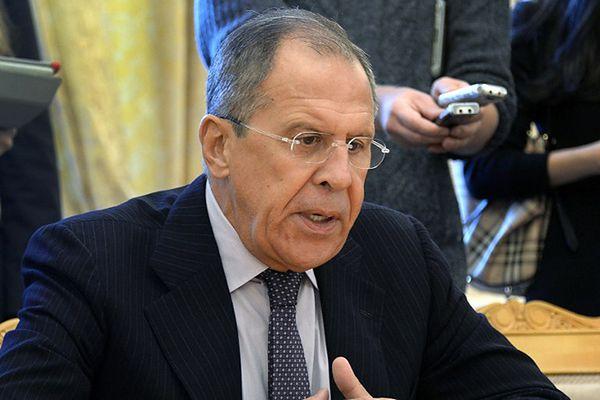 Siergiej Ławrow: sankcjami wobec Rosji UE podkopuje proces pokojowy na Ukrainie