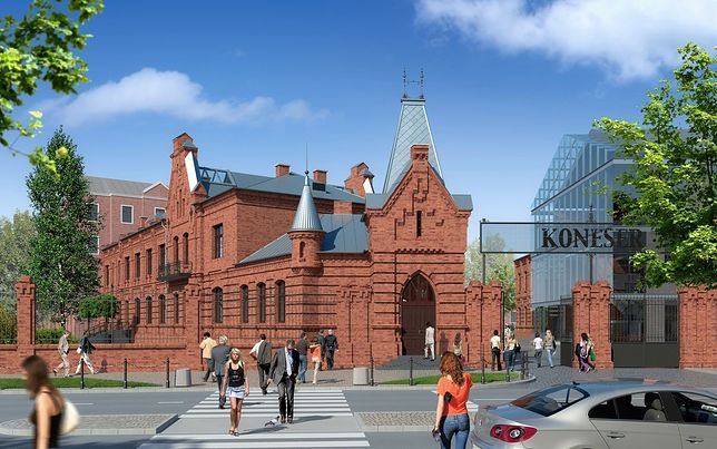 Centrum Marszałkowska i nowy Koneser [WIZUALIZACJE]
