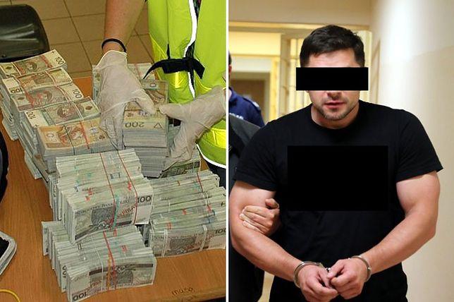 Chciał wpłacić do banku fałszywe 1,5 mln złotych