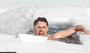 Czech pobił rekord świata. Ustanowił go płynąc pod lodem