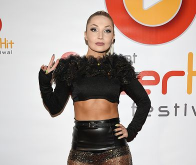 Cleo na imprezie Polsat SuperHit Festiwal. Co ona założyła?