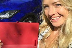 Basia Kurdej-Szatan ma nowe, luksusowe auto. To niebieski jaguar