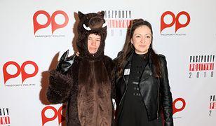 Diana Lelonek i Anna Siekierska w stroju dzika