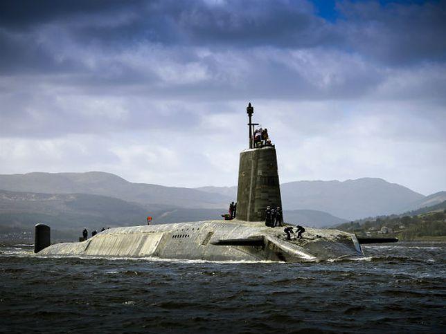 HMS Vigilant - atomowy okręt podwodny typu Vanguard