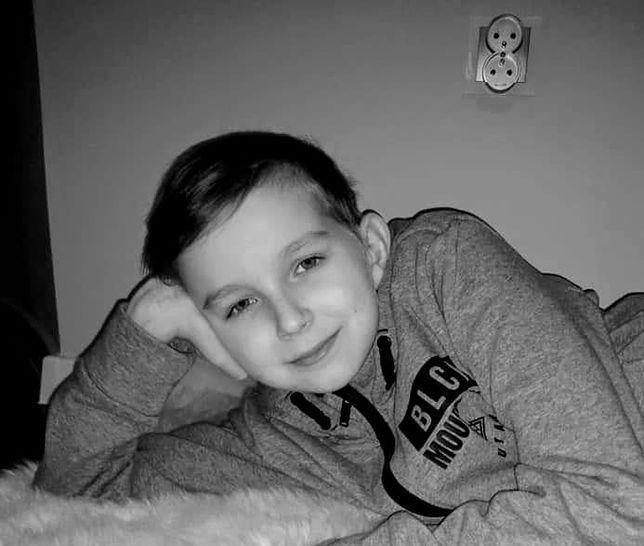 13-letni Oliwier zmarł w niedzielę, 5 stycznia 2020 r.
