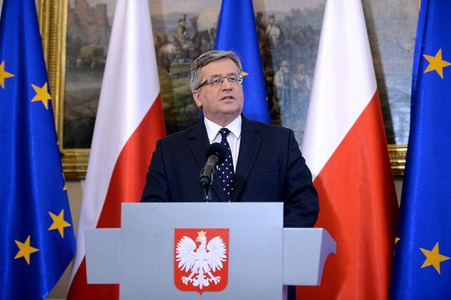 Bronisław Komorowski i Donald Tusk o rozmowach w Mińsku