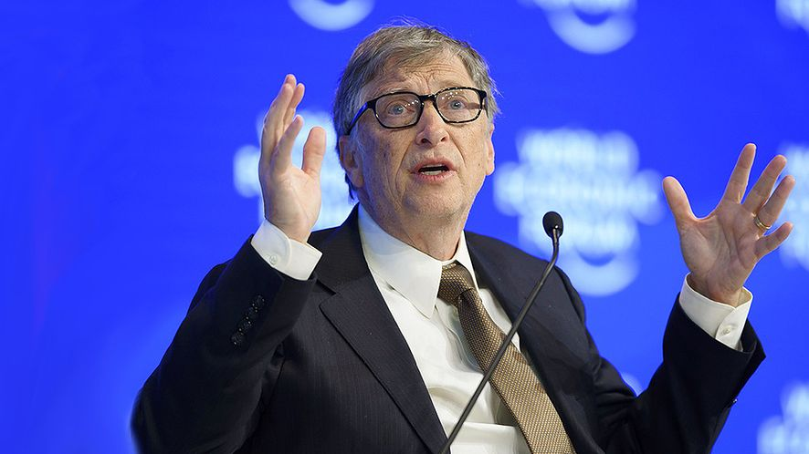Bill Gates znów najbogatszy (fot. East News, AFP PHOTO / FABRICE COFFRINI)