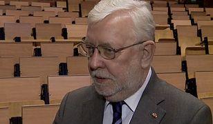 Prof. Jerzy Stępień: Na miejscu prezydenta ręka by mi zadrżała