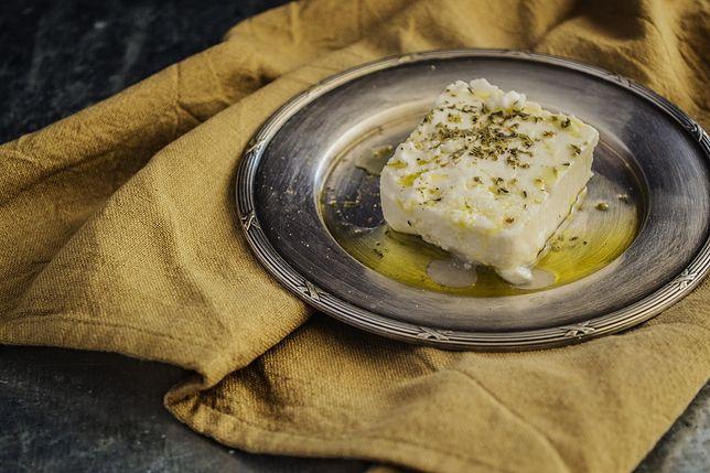 Ser feta jest symbolem kuchni greckiej