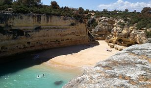 Praia das Fontainhas. Cała plaża tylko dla nas