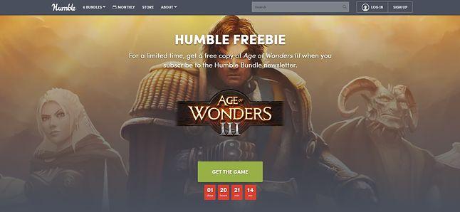 Do końca promocji pozostało niewiele czasu, fot. zrzut ekranu strony Humble Bundle.