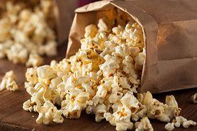 Popcorn do przygotowania w mikrofalówce o niskiej zawartości tłuszczu i sodu