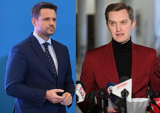 Rafał Trzaskowski i Sebastian Kaleta.