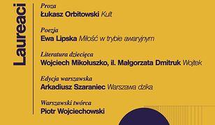 Po raz 13. przyznano Nagrodę Literacką m.st. Warszawy