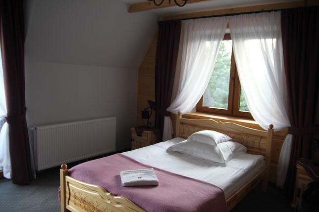 Tak wygląda pokój w Willi Karpatia.
