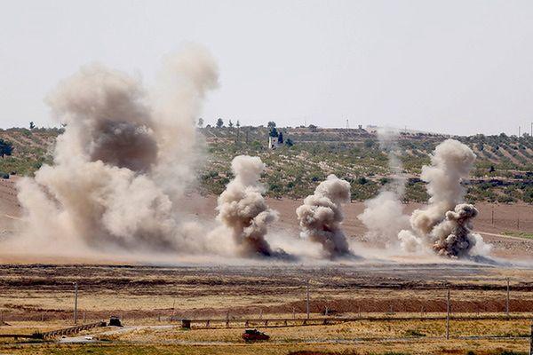 Jordańskie lotnictwo przeprowadzono ataki na cele IS w południowej Syrii