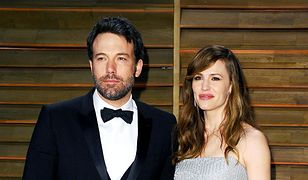 Ben Affleck z byłą żoną, Jennifer Garner