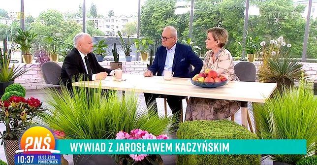 Prowadzili wywiad z Jarosławem Kaczyńskim. Michał Olszański się tłumaczy