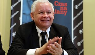 """Jarosław Kaczyński na promocji książki """"Czas na zmiany"""""""