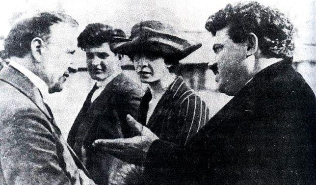 Premier Bułgarii Aleksandyr Stambolijski (pierwszy z prawej)