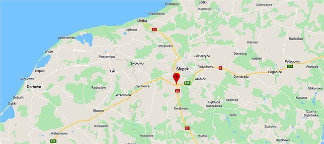 Śmiertelny wypadek na obwodnicy Słupska. Nie żyją dwie osoby