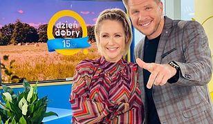 Filip Chajzer i Małgorzata Ohme byli zdani na siebie w kuchni DDTVN.