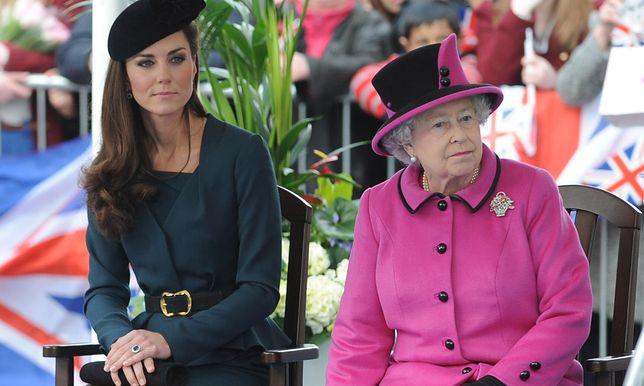 Kate Middleton. Jej relacje z królową nie zawsze były tak dobre