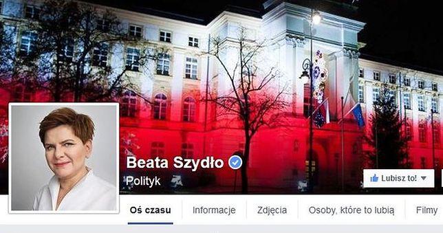 """""""Szanowna Pani Premier mój okres właśnie się rozpoczął"""". Polki trollują Beatę Szydło na jej Facebooku"""