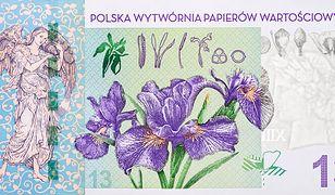 Polska Wytwórnia Papierów Wartościowych podkreśla, że banknoty testowe to w zasadzie ulotki, które nie są na sprzedaż