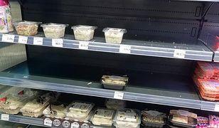 WP już w sierpniu informowało o pustkach na sklepowych półkach w Piotrze i Pawle