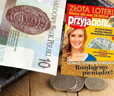 10-złotówki to nie wszystko. W loterii można też wygrać pięć nagród po 1 tys. złotych.