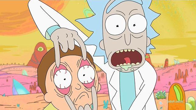 """Tak wygląda się podczas czytania """"Rick i Morty. Porąbana sztuka"""""""