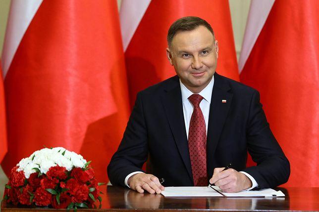 Andrzej Duda podjął decyzję ws. ustawy o sędziach