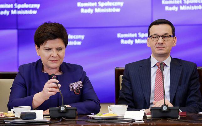 W grudniu na czele rządu Beatę Szydło zastąpił Mateusz Morawiecki