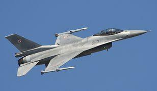 Polskie F-16 przechwyciły samolot z rosyjskim ministrem