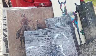 Iwona Guzowska zaczęła malować obrazy