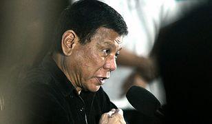 Strzały w pobliżu rezydencji Duterte